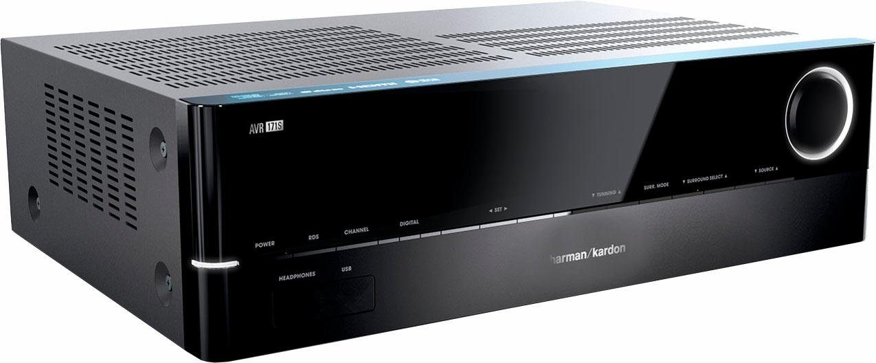 Harman/Kardon AVR 171S 7-Kanal AV-Receiver (Hi-Res, 3D, Spotify Connect, Airplay, Bluetooth)